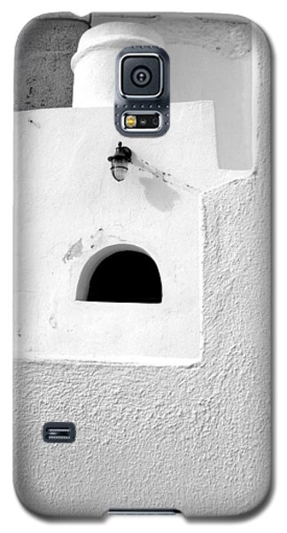 Galaxy S5 Case featuring the photograph White Abstract by Ana Maria Edulescu