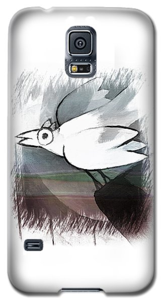 White Bird Galaxy S5 Case