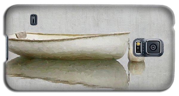 White Boat Galaxy S5 Case