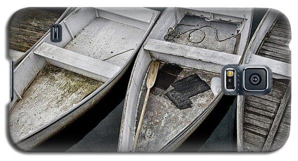 White Boats Galaxy S5 Case