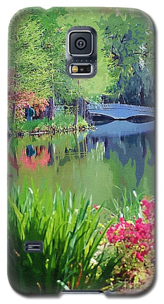 White Bridge Galaxy S5 Case