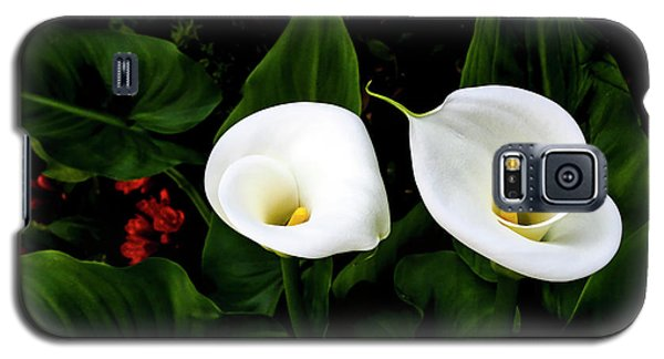White Calla Lily Galaxy S5 Case