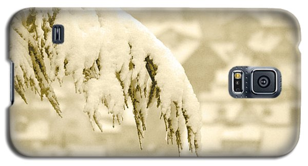 Galaxy S5 Case featuring the photograph White Christmas - Winter In Switzerland by Susanne Van Hulst
