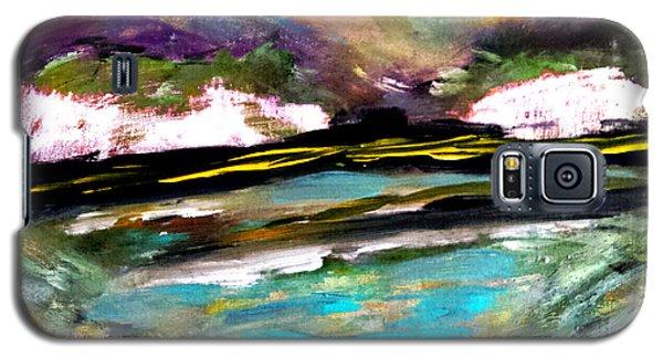 White Cliffs At Sunset Galaxy S5 Case