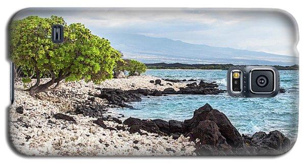 White Coral Coast Galaxy S5 Case
