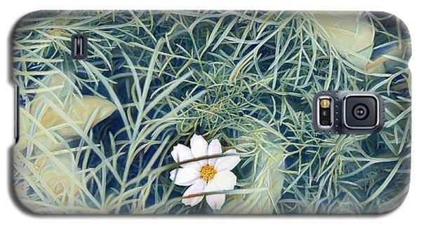 White Cosmo Galaxy S5 Case