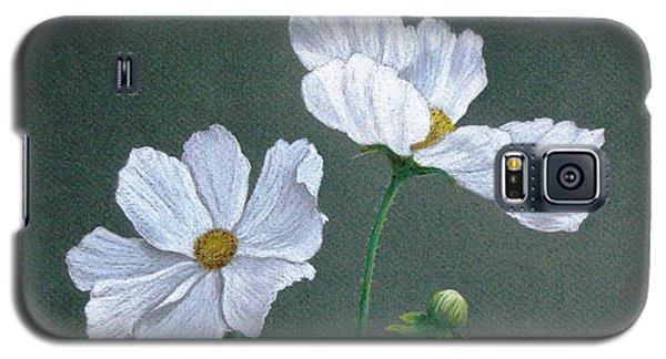 White Cosmos Galaxy S5 Case