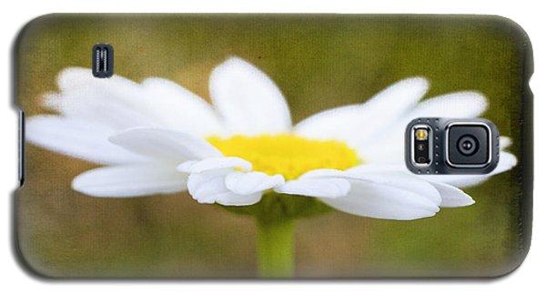 White Daisy Galaxy S5 Case by Eduard Moldoveanu