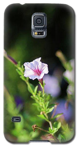 White Flower Galaxy S5 Case