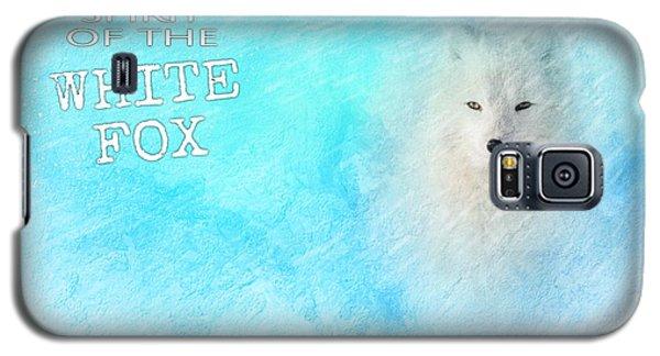 White Fox Spirit Galaxy S5 Case
