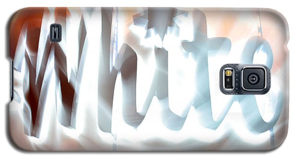 White Hot Galaxy S5 Case