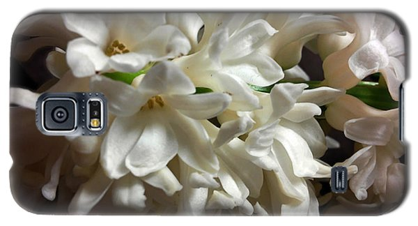 White Hyacinth Galaxy S5 Case by Jasna Dragun