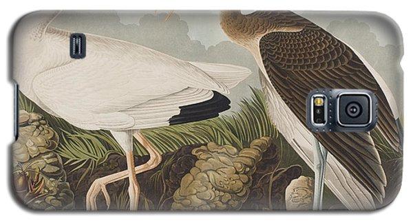 White Ibis Galaxy S5 Case by John James Audubon