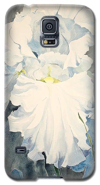 White Iris - For Van Gogh - Posthumously Presented Paintings Of Sachi Spohn   Galaxy S5 Case
