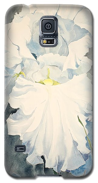 White Iris - For Van Gogh - Posthumously Presented Paintings Of Sachi Spohn   Galaxy S5 Case
