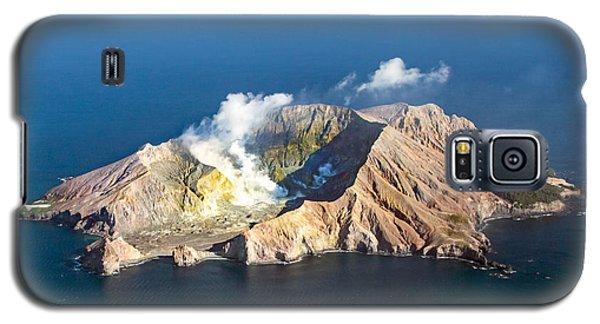White Island Galaxy S5 Case