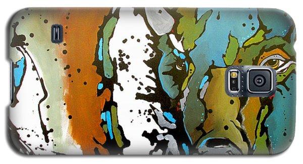 White Lightning Galaxy S5 Case