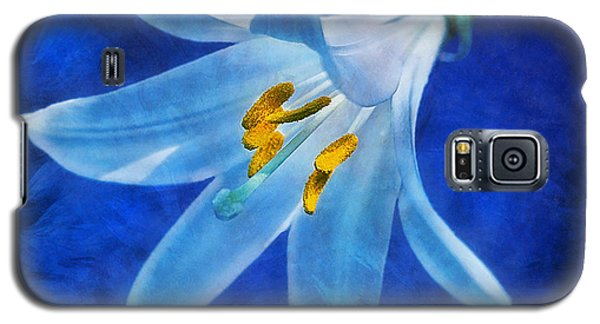Galaxy S5 Case featuring the digital art White Lilly by Ian Mitchell