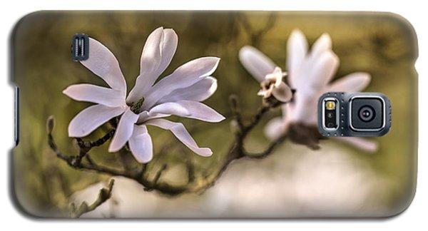 White Magnolia Galaxy S5 Case