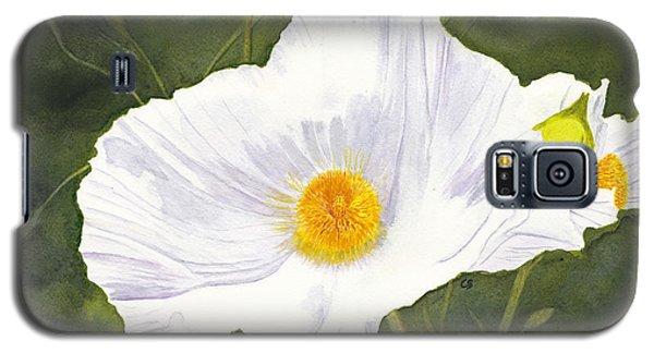 White Matilija Poppy  Galaxy S5 Case