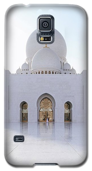 White Mosque Galaxy S5 Case