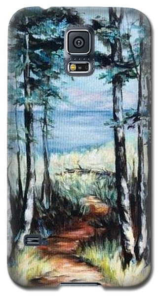 White Mountain Forest Galaxy S5 Case