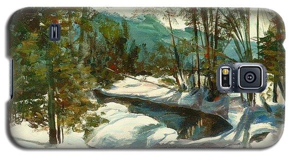 White Mountain Winter Creek Galaxy S5 Case