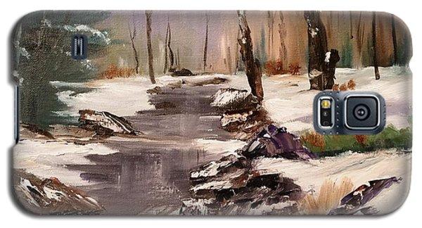 White Mountains Creek Galaxy S5 Case