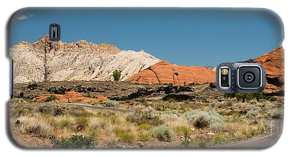 White Navajo Sandstone Petrified Sand Dune Galaxy S5 Case by MaryJane Armstrong