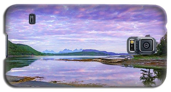 White Night In Nordkilpollen Cove Galaxy S5 Case