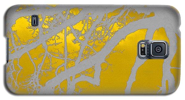 White Oak -yellow Orange Galaxy S5 Case