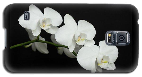 White On Black Galaxy S5 Case
