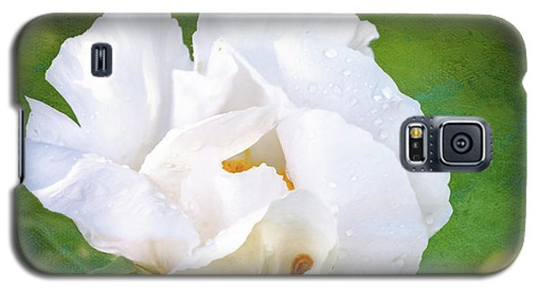 White Peony After The Rain Galaxy S5 Case