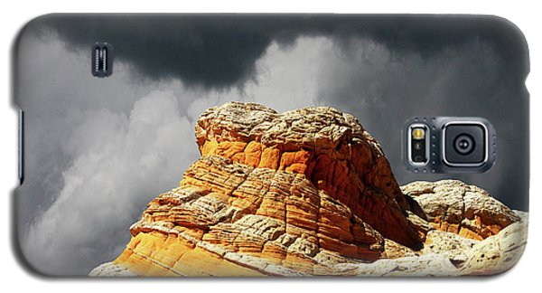 Galaxy S5 Case featuring the photograph White Pocket 35 by Bob Christopher