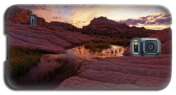 Galaxy S5 Case featuring the photograph White Pocket Sunset by Jonathan Davison