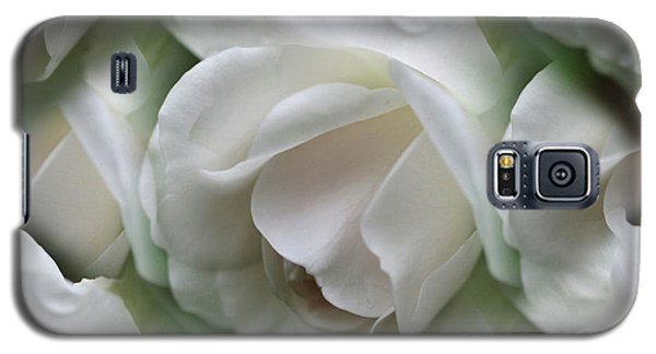 Galaxy S5 Case featuring the photograph White Roses by Smilin Eyes  Treasures