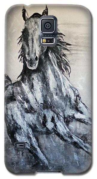 White Runner Galaxy S5 Case by Jennifer Godshalk