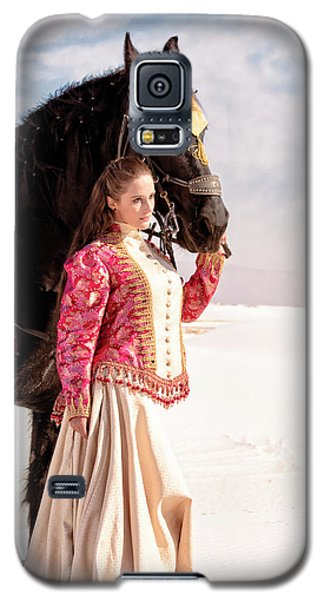White Sands Horse And Rider #2a Galaxy S5 Case