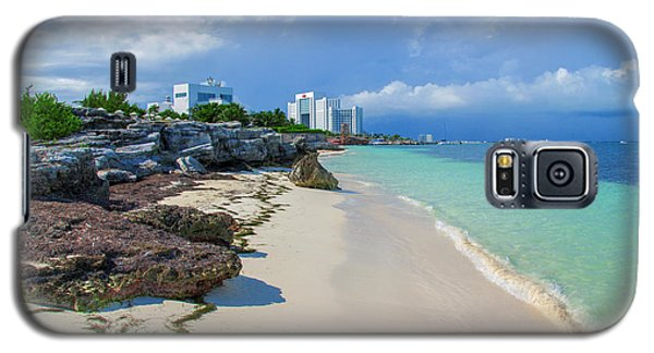 White Sandy Beach Of Cancun Galaxy S5 Case