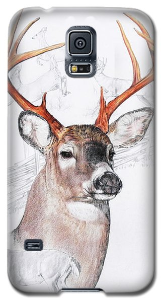 White-tailed Deer Galaxy S5 Case by Barbara Keith