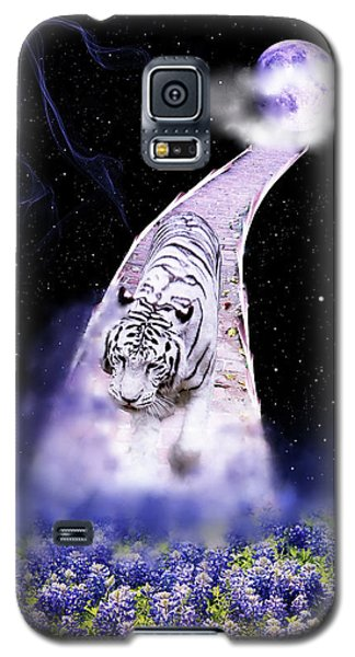 White Tiger Fantasy Galaxy S5 Case