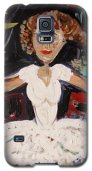 White Tutu Galaxy S5 Case by Mary Carol Williams