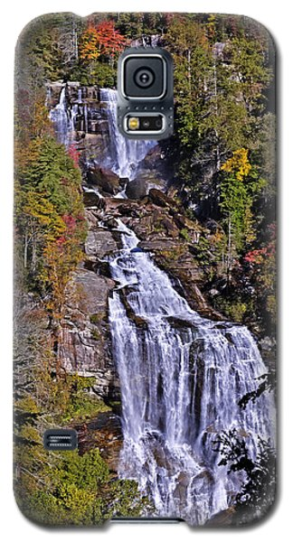 White Water Falls Galaxy S5 Case by John Gilbert