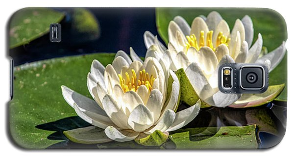 White Water Lilies Galaxy S5 Case