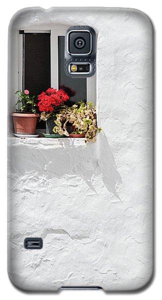 White Window Galaxy S5 Case