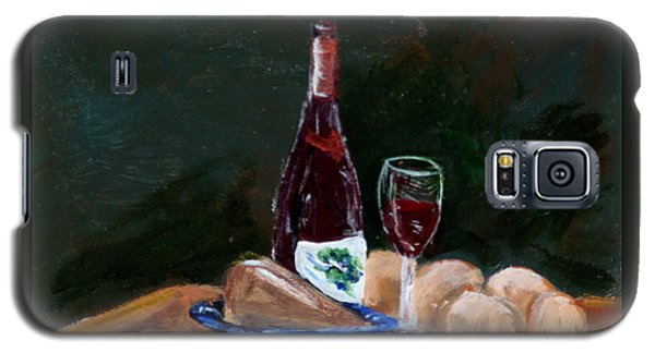 White Wine Galaxy S5 Case