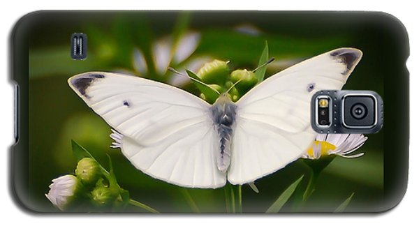 White Wings Of Wonder Galaxy S5 Case