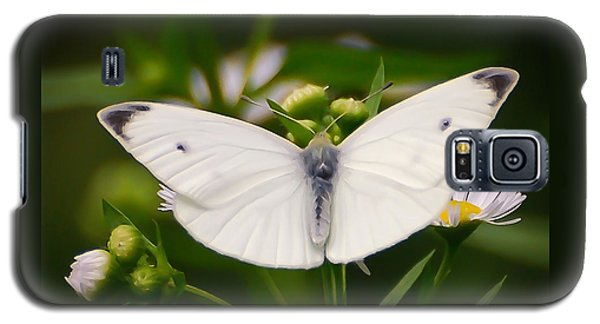 White Wings Of Wonder Galaxy S5 Case by Kerri Farley