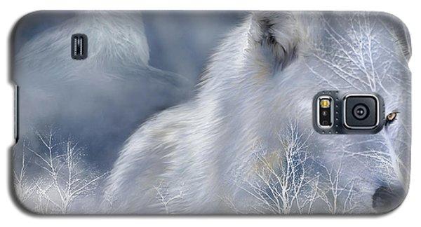 White Wolf Galaxy S5 Case