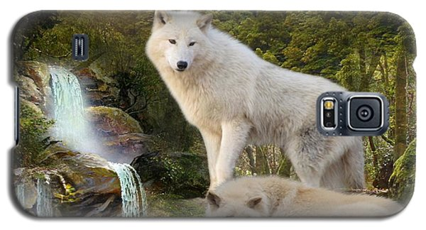 White Wolf Falls2 Galaxy S5 Case